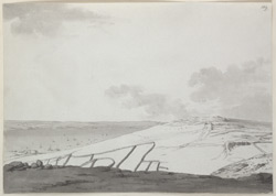 The Roman camp above Fortuneswell, Isle of Portland f.189